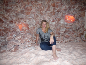 Mom In Salt Cave